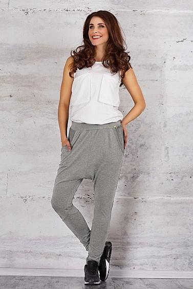 Spodnie M056 Szary