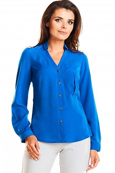 Koszula M176 niebieski